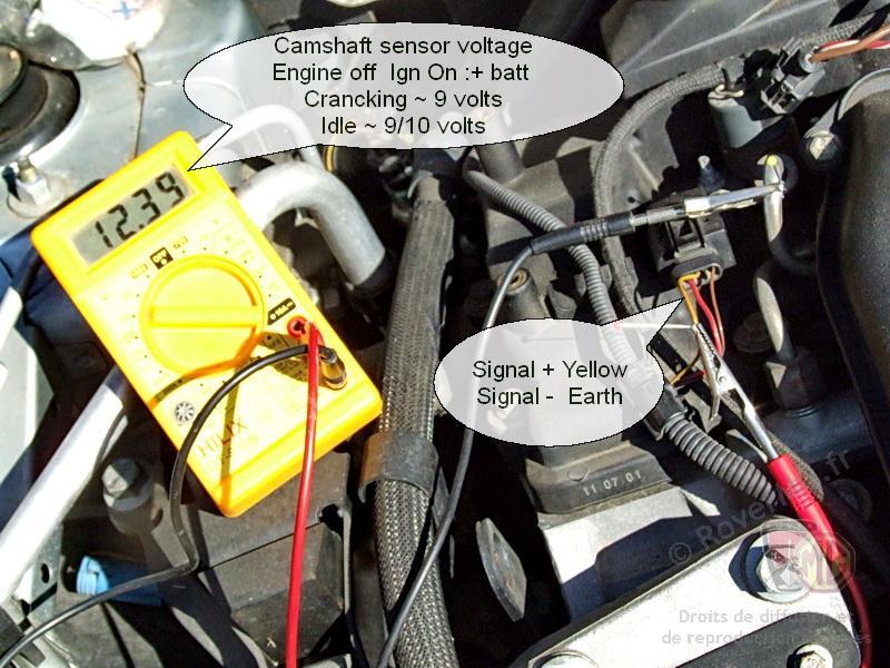 Cam Sensor Testing  petrol - MG-Rover org Forums