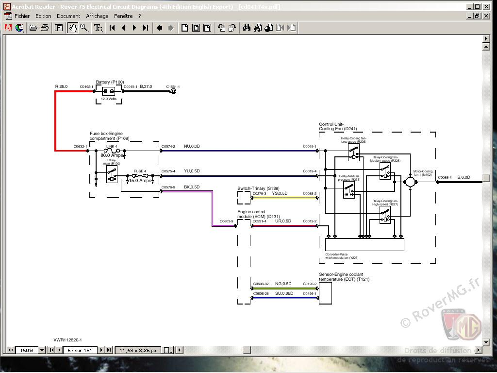 Rover 75 Cdt Wiring Diagram Trusted Diagrams And Body Electrical System Basic House